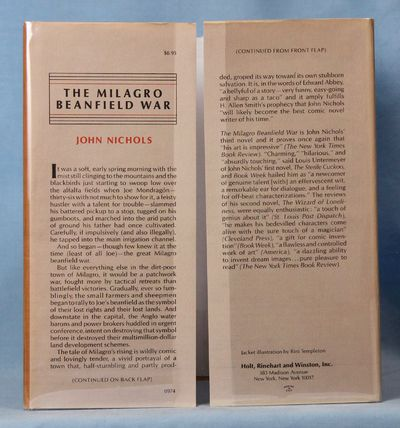 Image for The Milagro Beanfield War (Signed)
