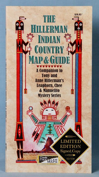 Image for The Hillerman Indian Country Map & Guide, Limited Edition (Signed X3)
