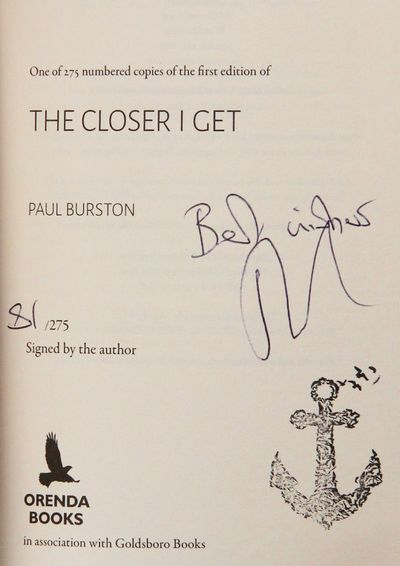 Image for The Closer I Get (Signed, Limited)