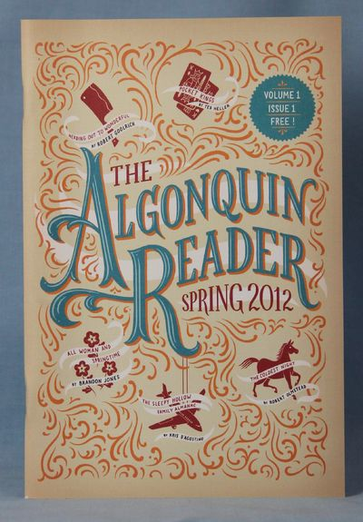 Image for The Algonquin Reader (Spring 2012) (Volume 1, Issue 1)