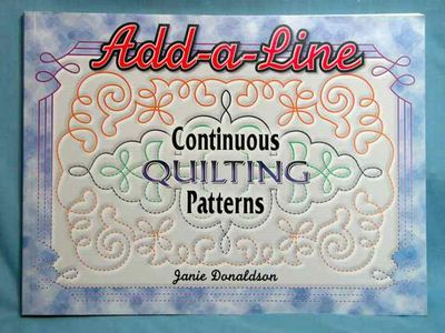 Image for Add a Line: Continuous Quilting Patterns