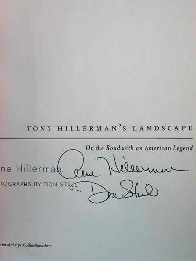 Image for Tony Hillerman's Landscape: On the Road with Chee and Leaphorn (Signed X2)