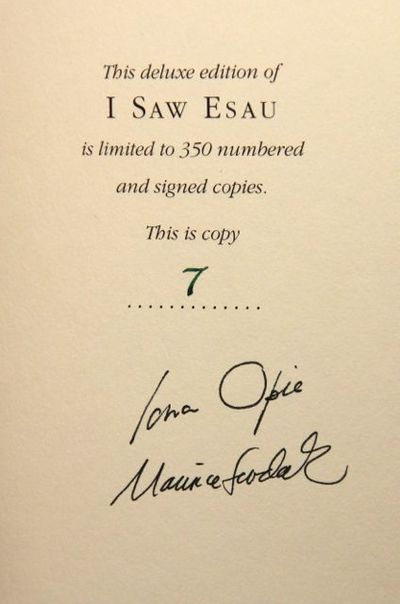 Image for I Saw Esau: The Schoolchild's Pocket Book