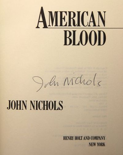 Image for American Blood (Signed)
