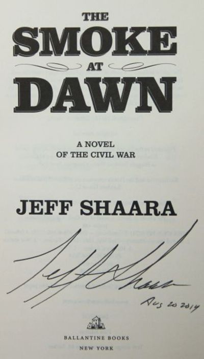 Image for The Smoke at Dawn: A Novel of the Civil War (Signed)