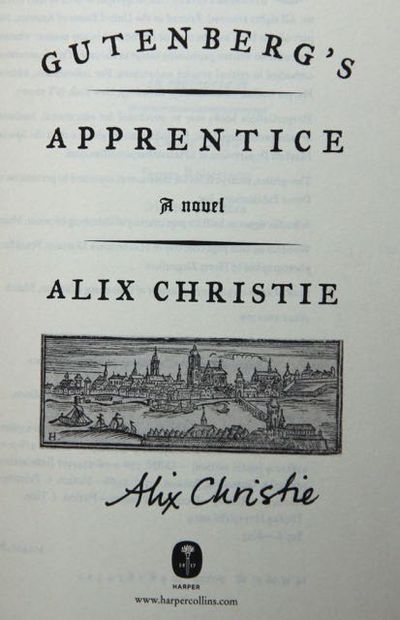 Image for Gutenberg's Apprentice: A Novel