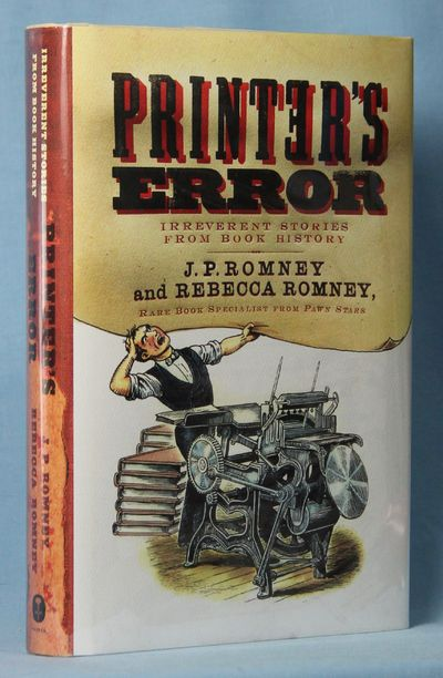 Image for Printer's Error: Irreverent Stories From Book History